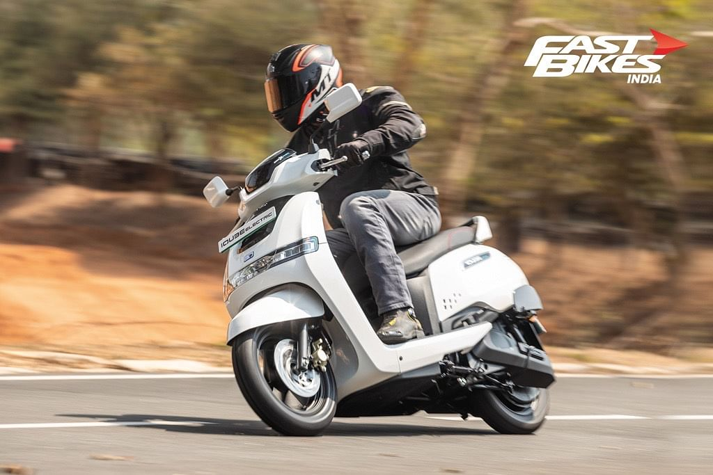 TVS iQube: First Ride Review