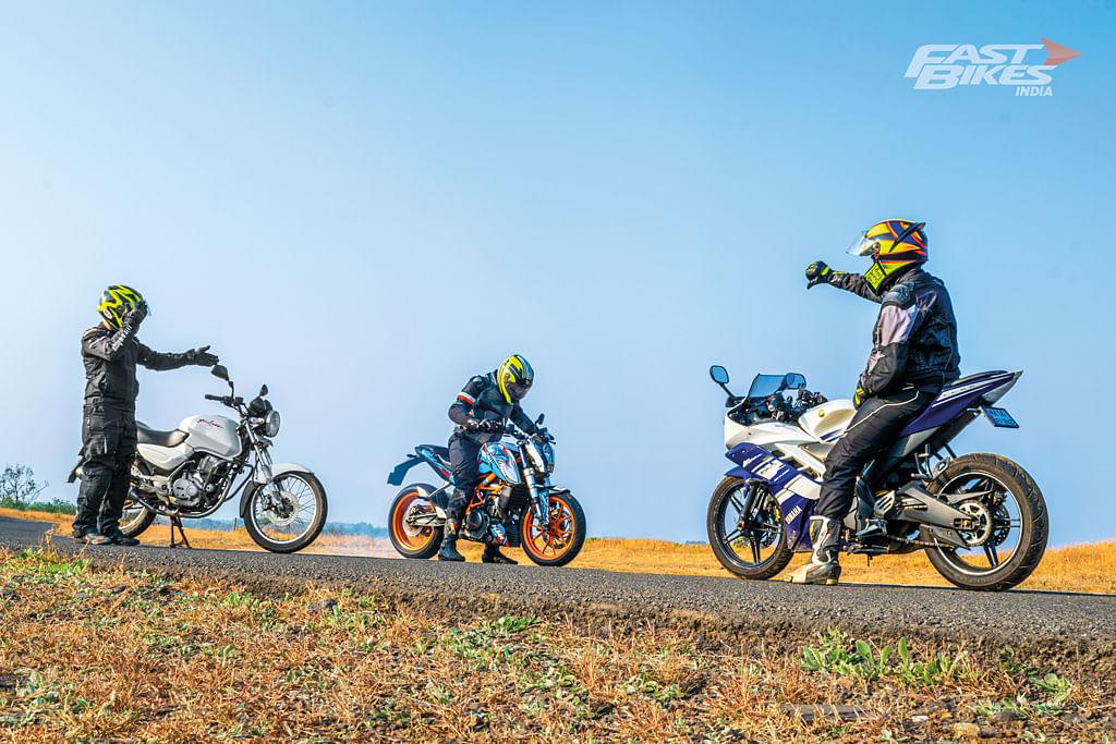 Bajaj Pulsar, KTM 390 Duke and Yamaha YZF-R15: Game Changers