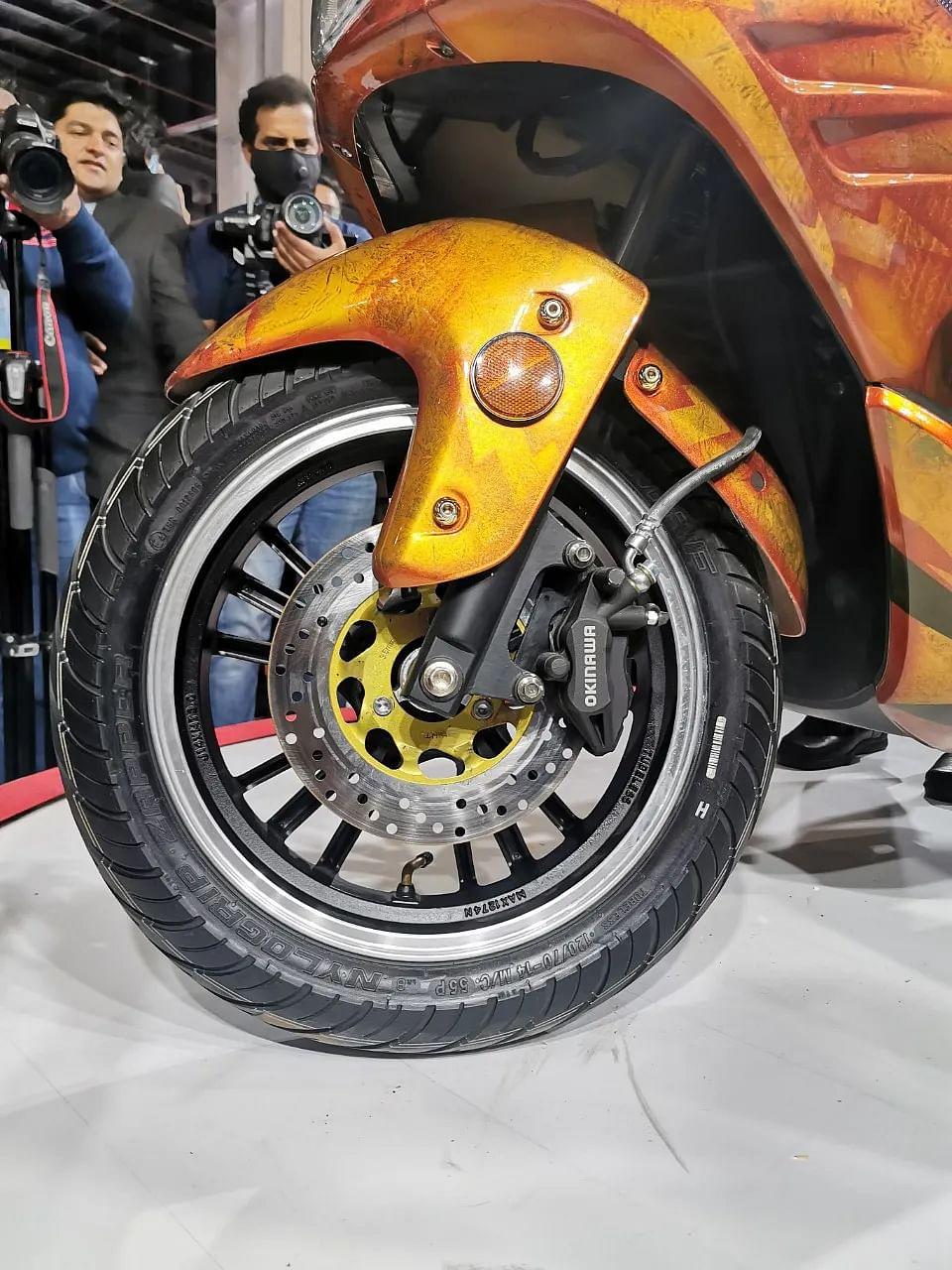 Auto Expo 2020: Okinawa Cruising ahead