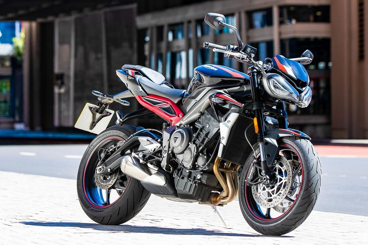 2020 Triumph Street Triple R breaks cover
