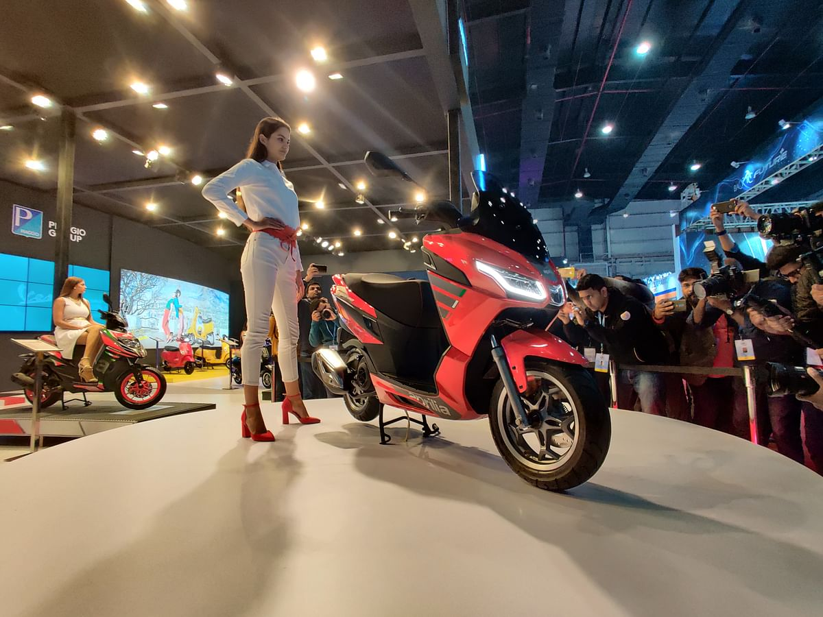 Auto Expo 2020: Piaggio Group introduces SXR 160 Maxi scooter