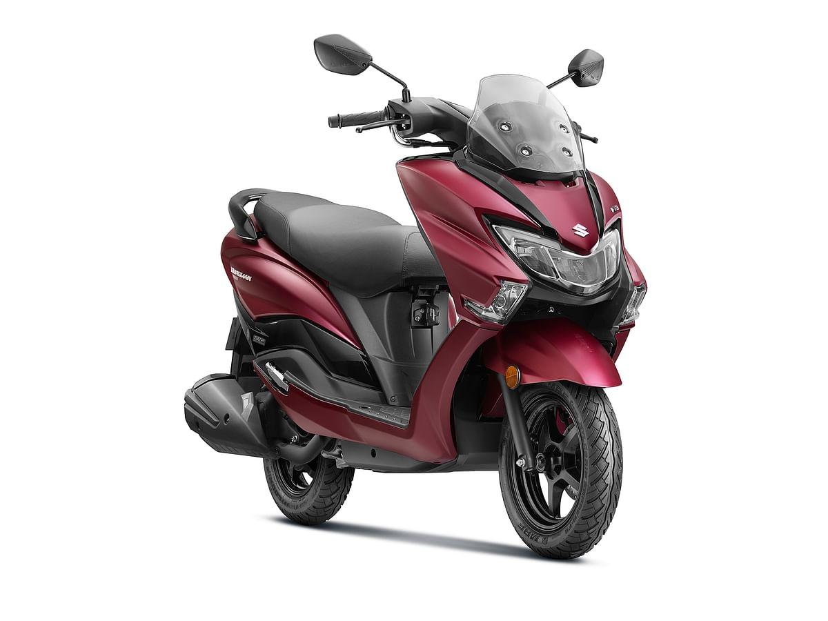 Suzuki launches Burgman Street BS6 at Rs 77,900
