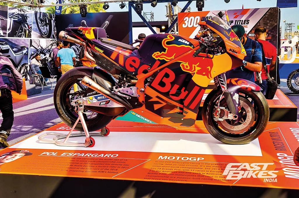 Pol Espargaro's KTM RC16 graced IBW 2019