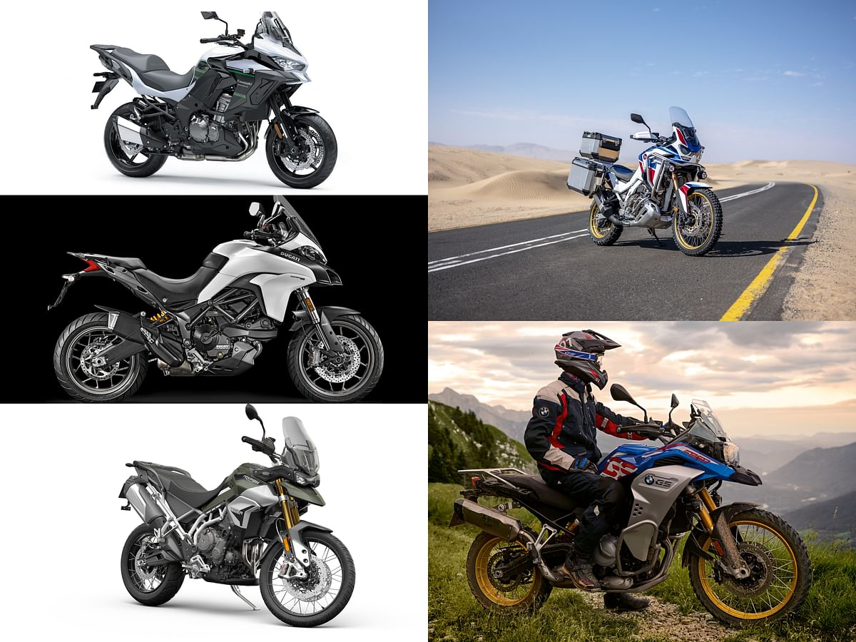 Honda Africa Twin v the competition
