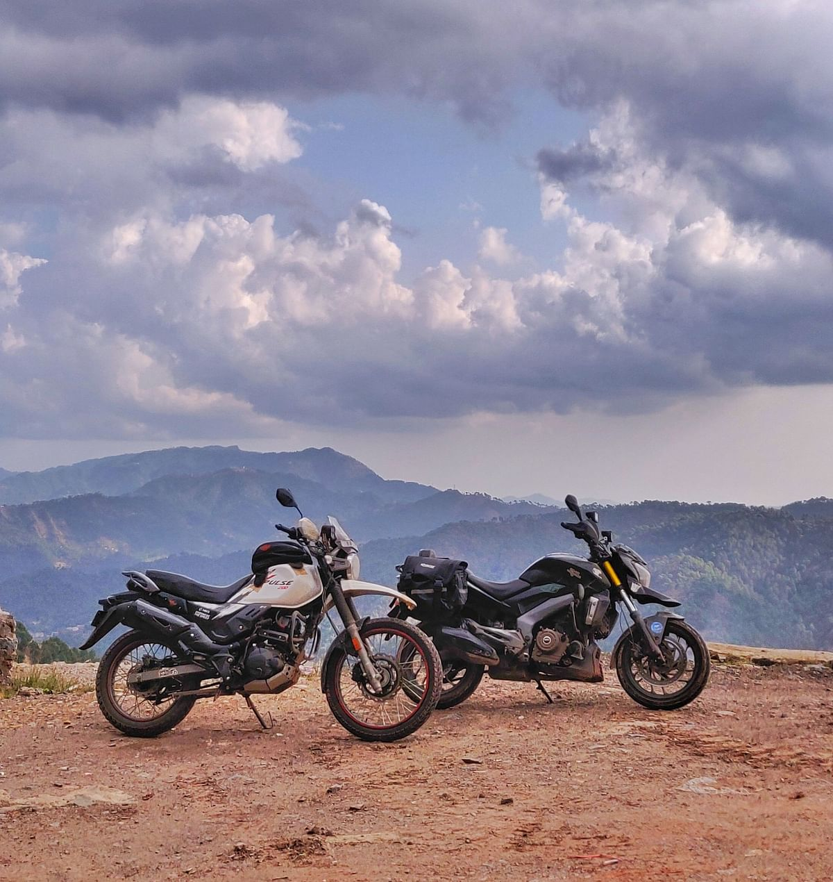 Taking on the Himalayas with a Dominar 400 and XPulse 200