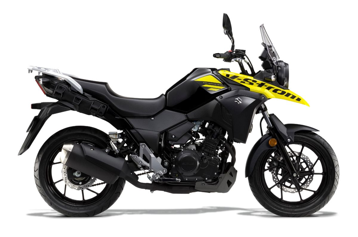 The V-Strom 250 stays true to its ADV genes.