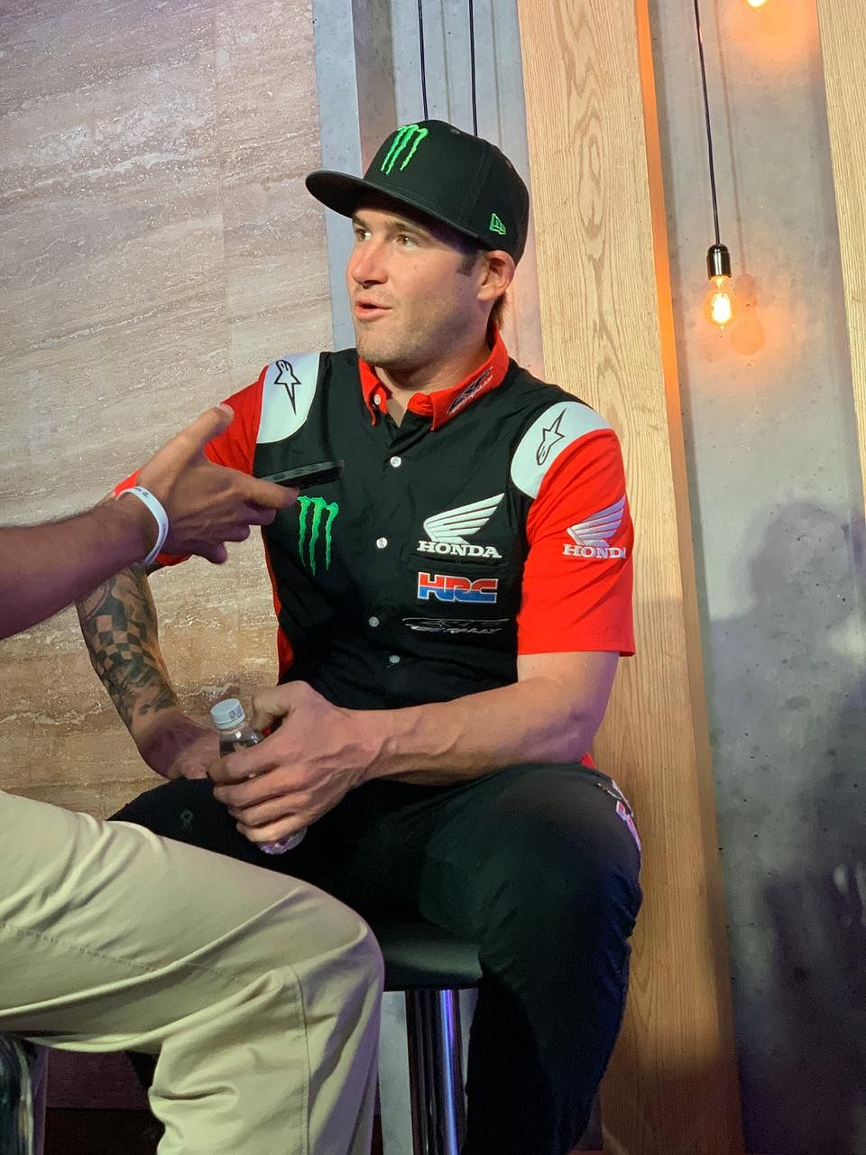 """""""You need more than just a fast motorcycle to take down a team of orange"""" says Ricky Brabec — the 2020 Dakar champion"""