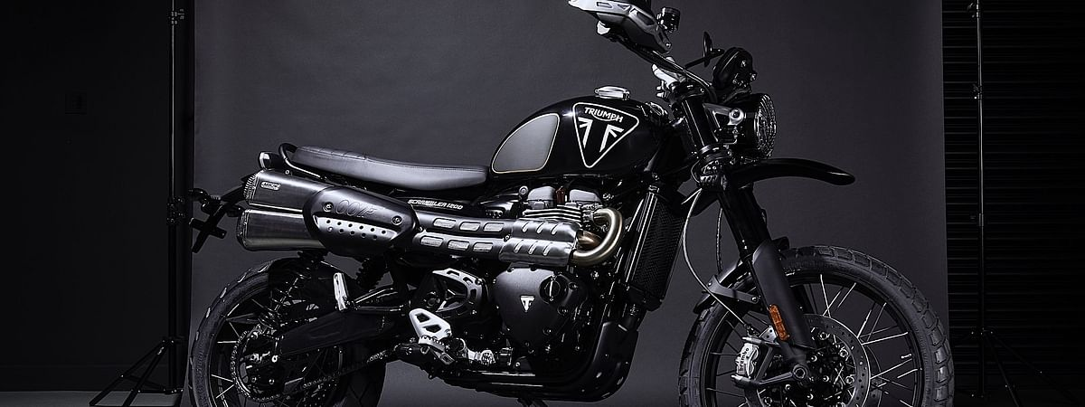 Triumph has unveiled a limited edition model, inspired by the machine ridden by Daniel Craig in the movie.