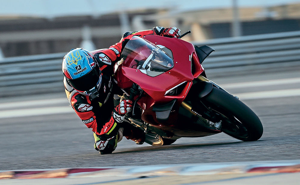 If the V4S doesn't tickle your fancy, Ducati also have a standard V4 that will comes in a lot cheaper