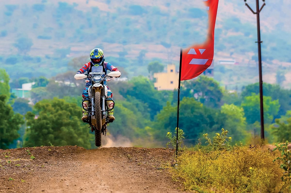 Going off-roading with the Hero Motocorp Xpulse 200
