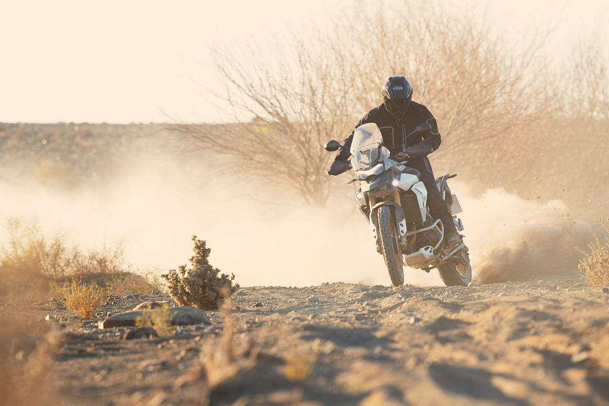 Triumph's Tiger 900 is a properly capable bike off-road!