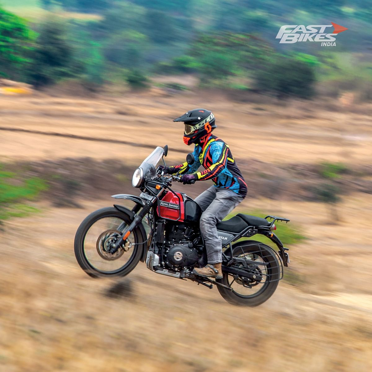 The Royal Enfield Himalayan is one of the more accessible ADVs in the market