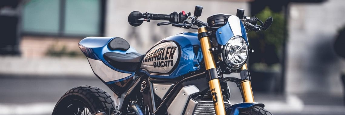 Scrambler 1100 FT by Marco Graziani wins the third edition of the Custom Rumble contest