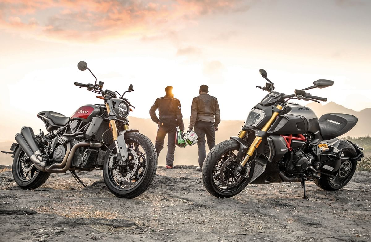 Indian FTR 1200 vs Ducati Diavel 1260: Two of a kind