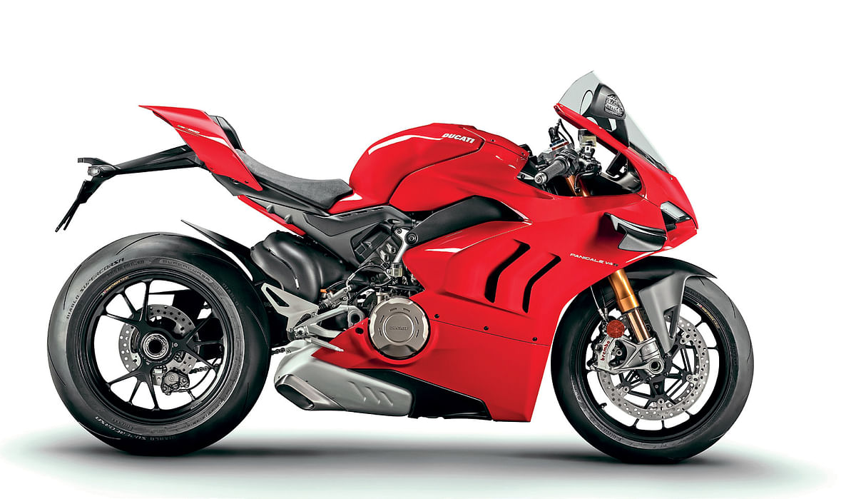 Ducati have made a fair few changes throughout the new V4 and V4S, but the engine isn't one of them
