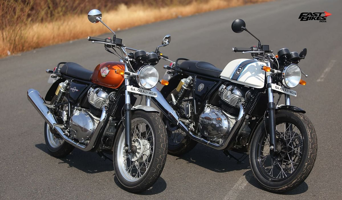 The 650 Twins will be the first bikes from Royal Enfield which you can customise