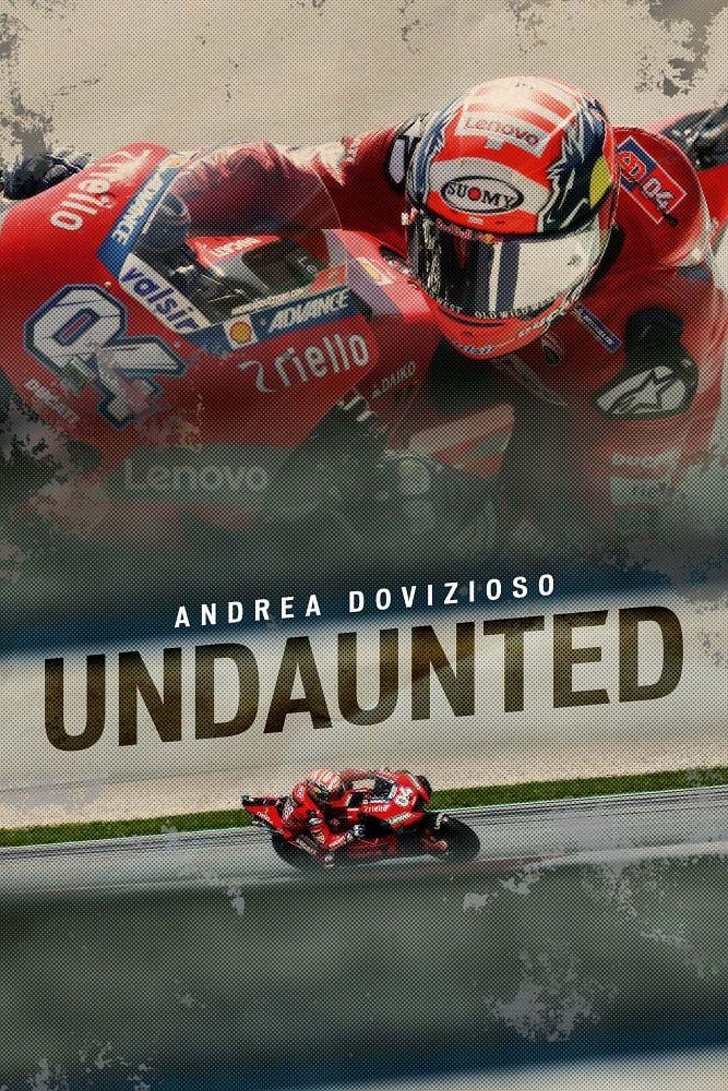 Andrea Dovizioso Undaunted cover portrait