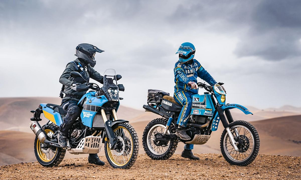 Yamaha reveals Dakar-inspired Ténéré 700 Rally