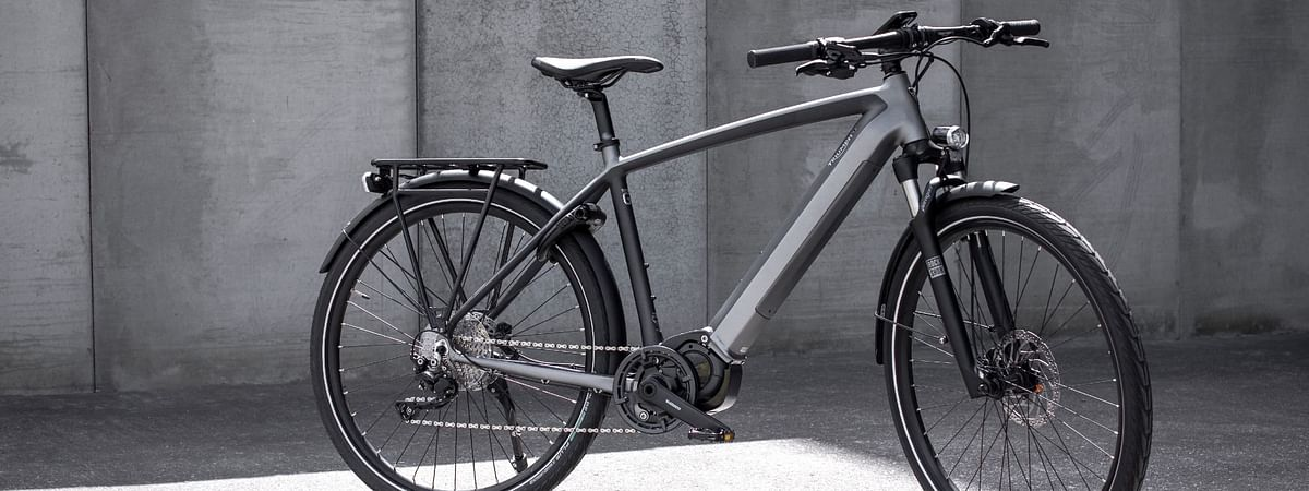Triumph enters the e-bicycle market with the Trekker GT