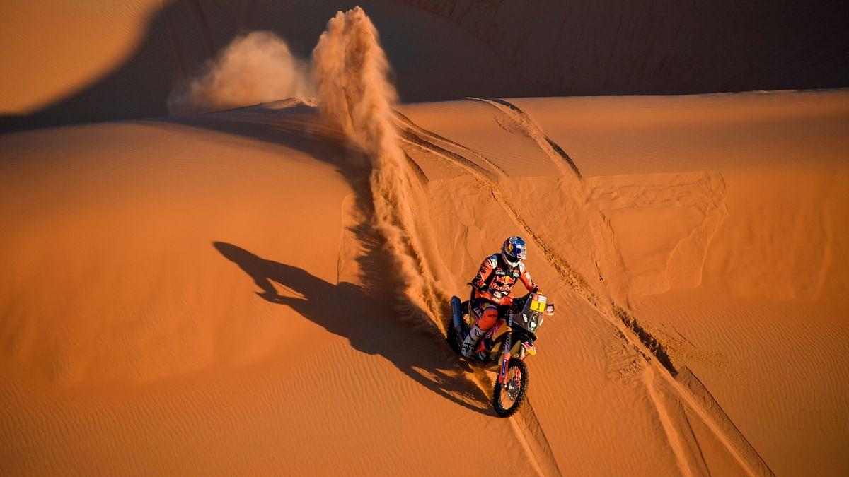 Toby Price at the 2020 Dakar Rally