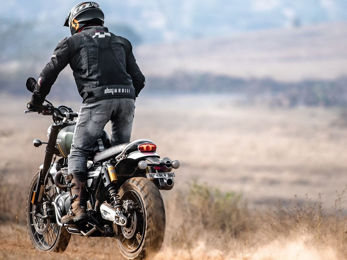 The Scrambler 1200 is a capable off-roader and can do almost everything.