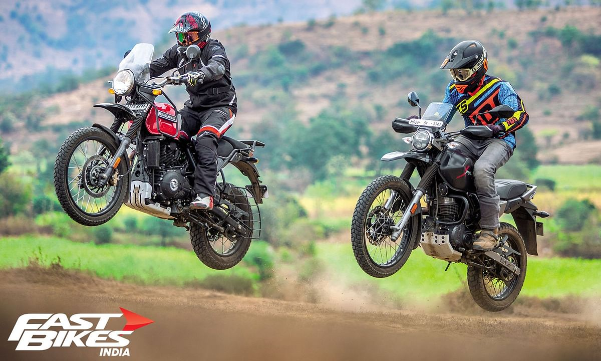 Royal Enfield Himalayan BS6 vs Hero Xpulse 200: The off-road test'