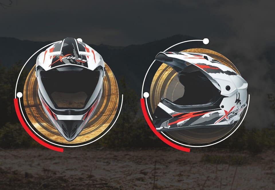 The XPulse Range of off-road helmets