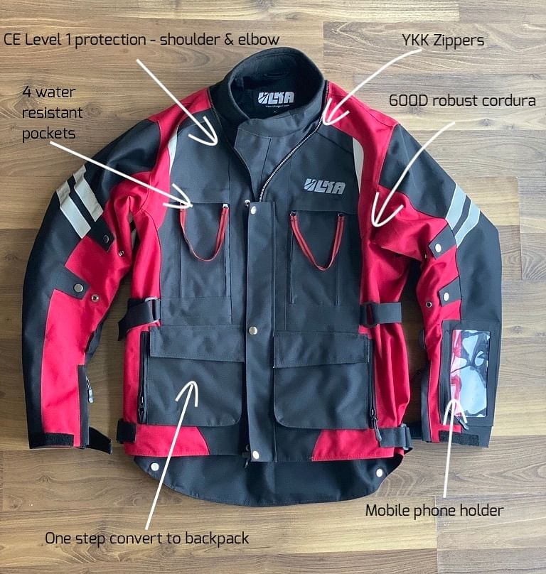Features of the Hakkit Forever jacket