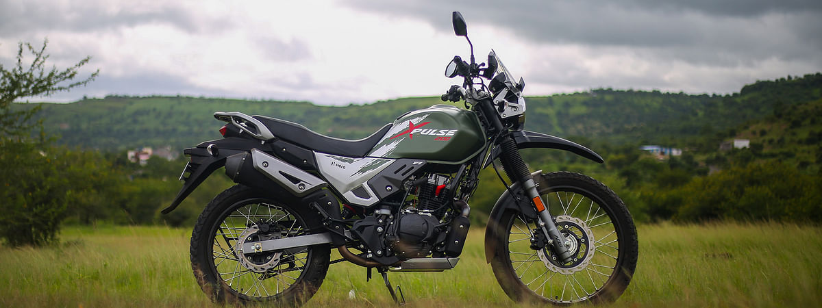Hero Xpulse 200 upgraded with a BS6 engine