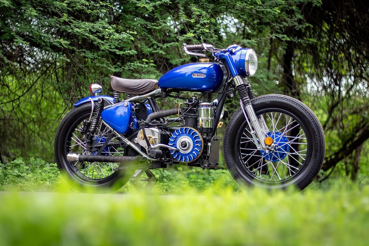 This 1959 diesel-powered Royal Enfield resto-mod can achieve 75kmpl!