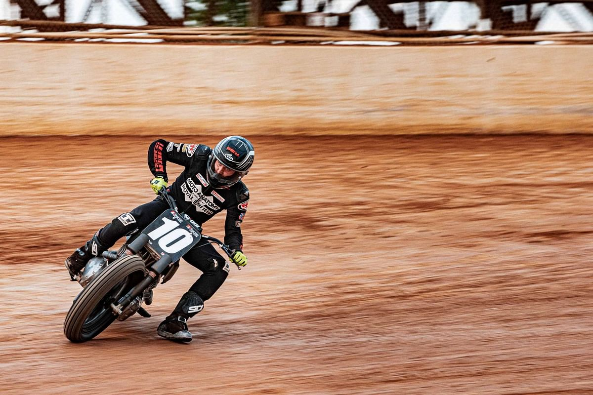 Royal Enfield Twins finish in sixth and seventh place in their American Flat Track debut