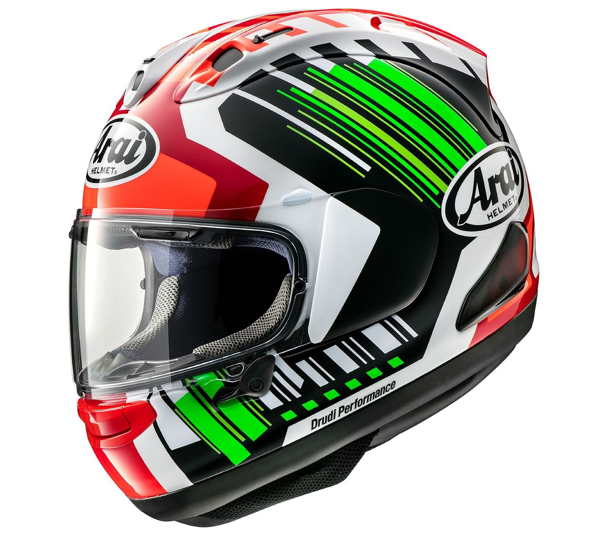 Arai is one of the few helmets with the Snell certification