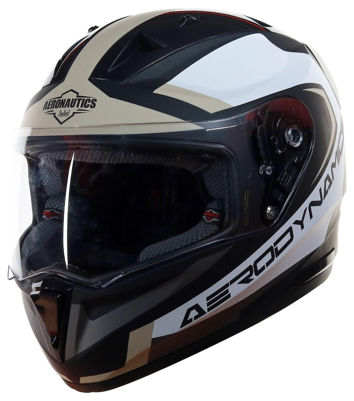 Steelbird is a well known ISI standard helmet