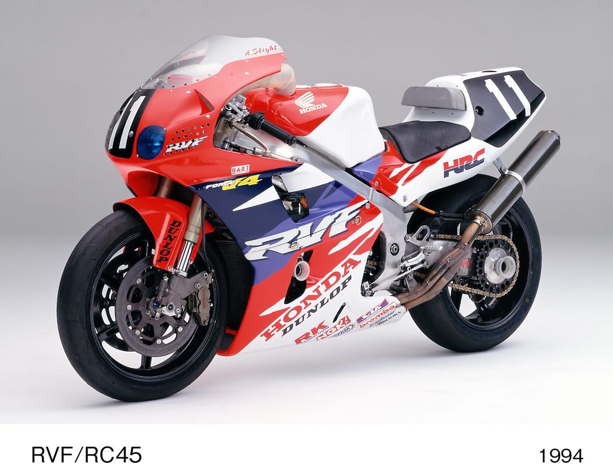 The RC45 gave Honda it's first consecutive winning streak