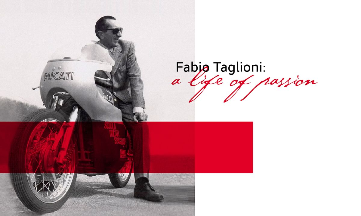 Ducati releases mini-series to commemorate birth centenary of Fabio Taglioni