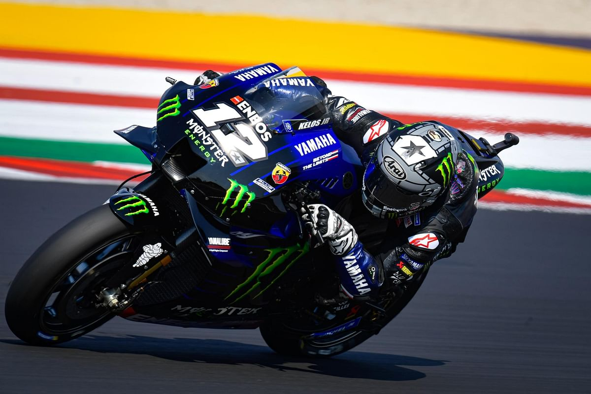 Vinales steals the thunder at Misano