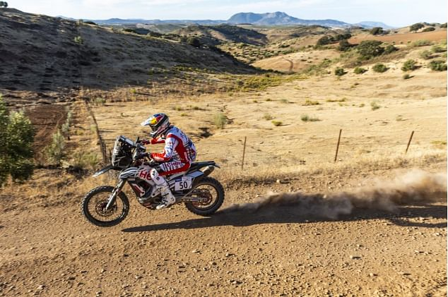 Buhler, Santosh gain positions in stage 2 of the Andalucia Rally
