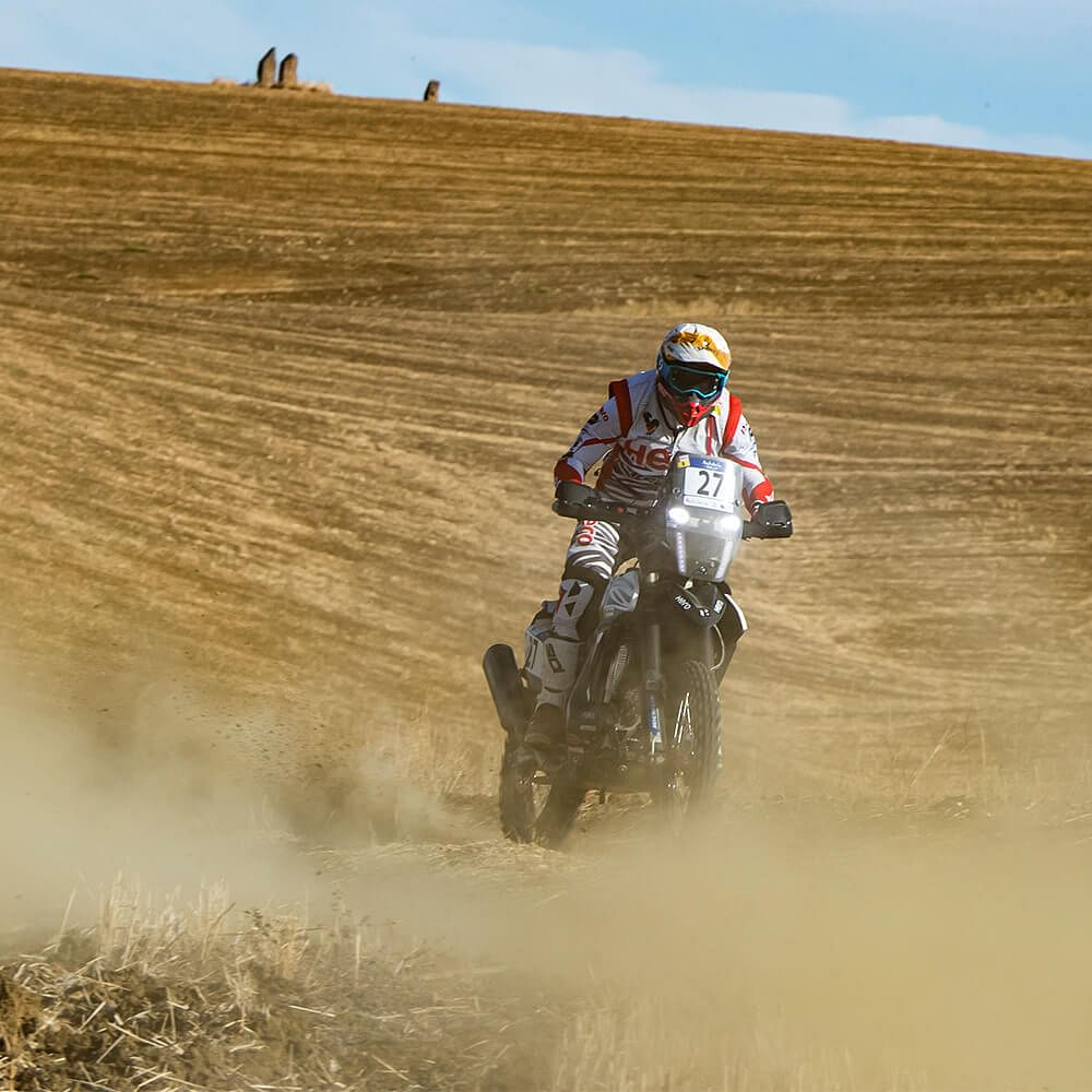 Hero Motosports soldiers on in Stage 3 of the Andalucia Rally