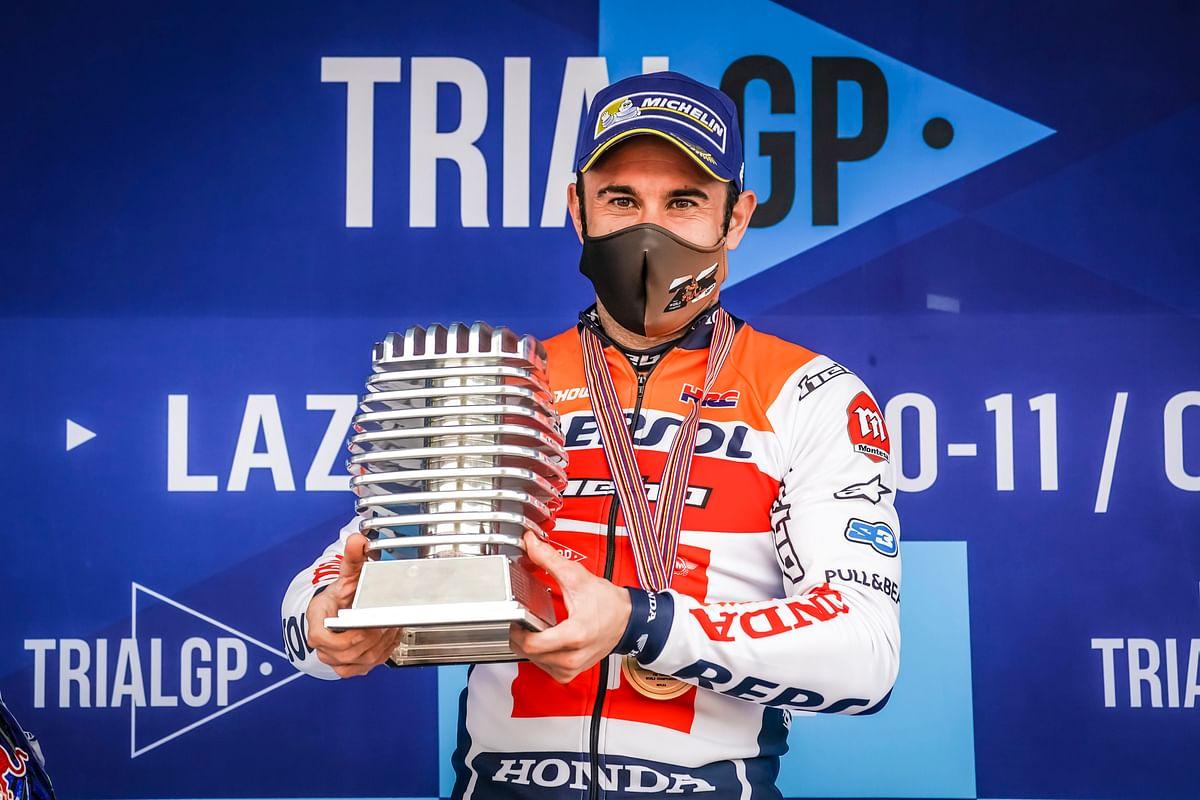 Toni Bou wins the 2020 FIM TrialGP World Championship