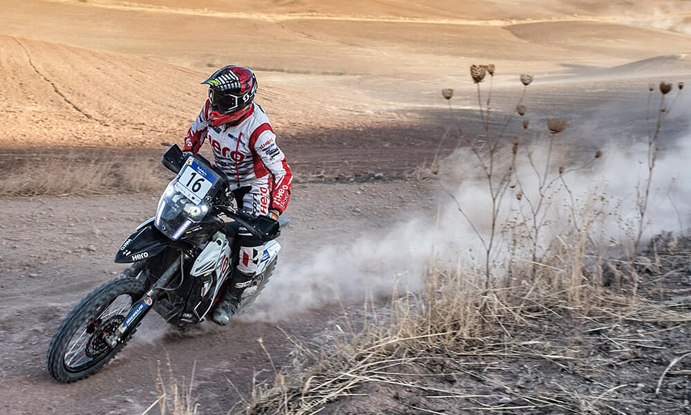Hero Motosports concludes Andalucia rally on a positive note