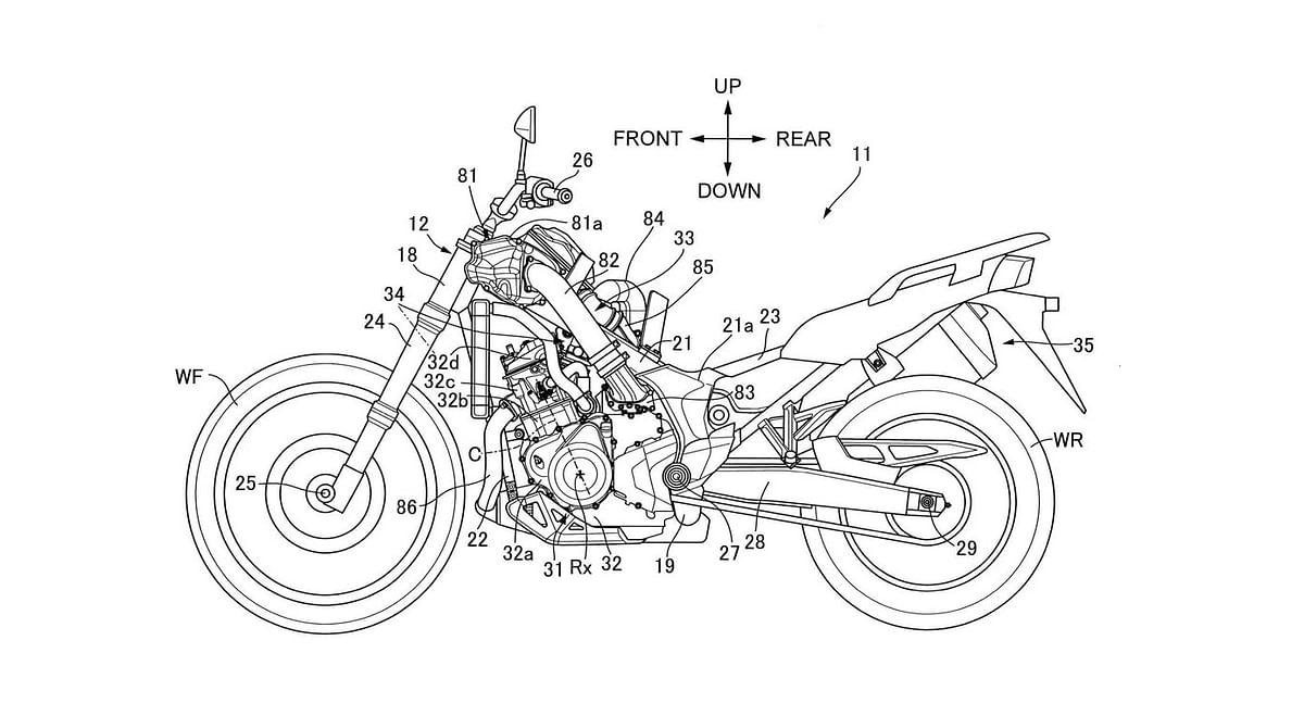 Honda working on supercharging the Africa Twin