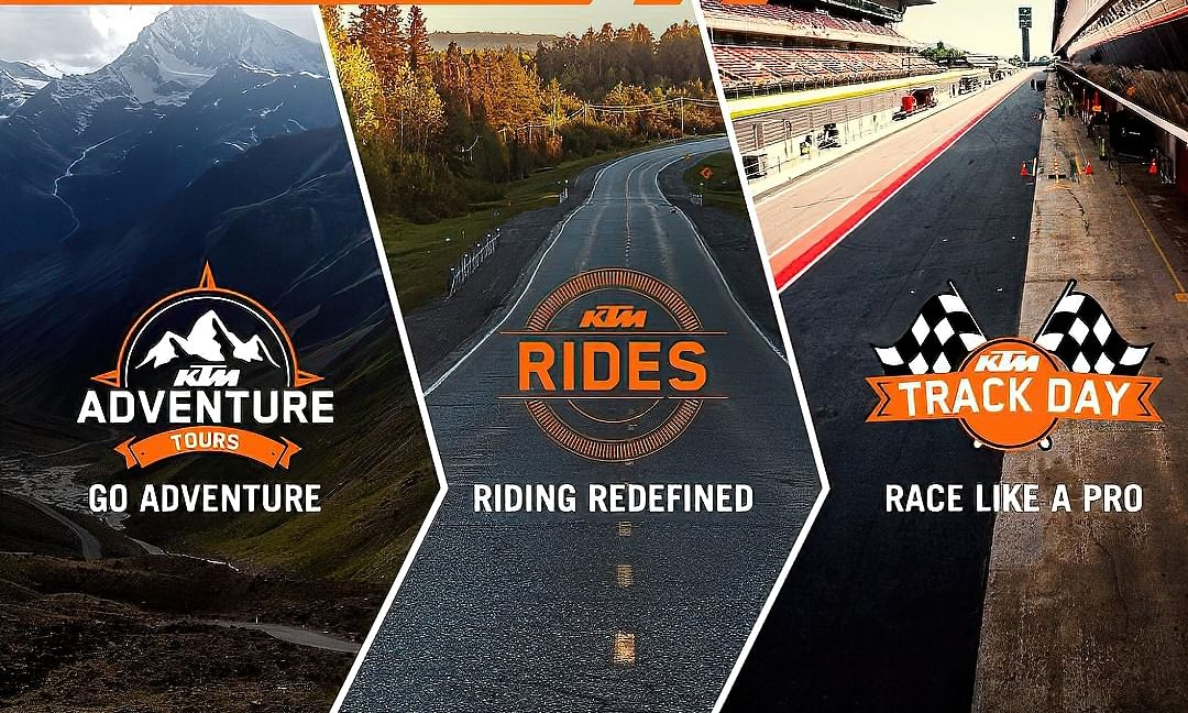 KTM announces Pro Experiences series of riding events for owners