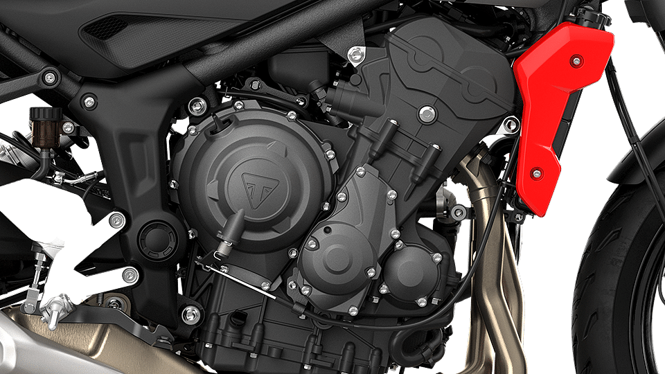 67 new components compared to the Triple S' motor