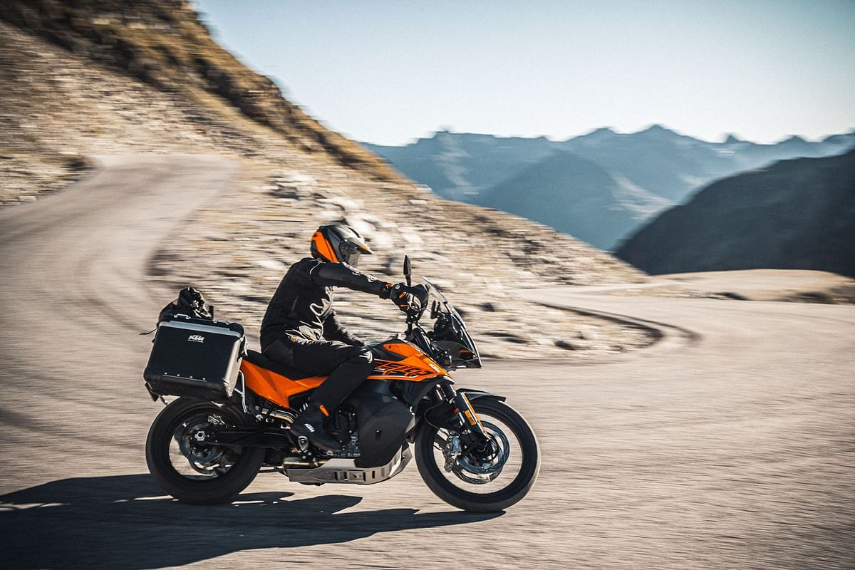 The KTM 890 Adventure offers a step up from its 790 sibling