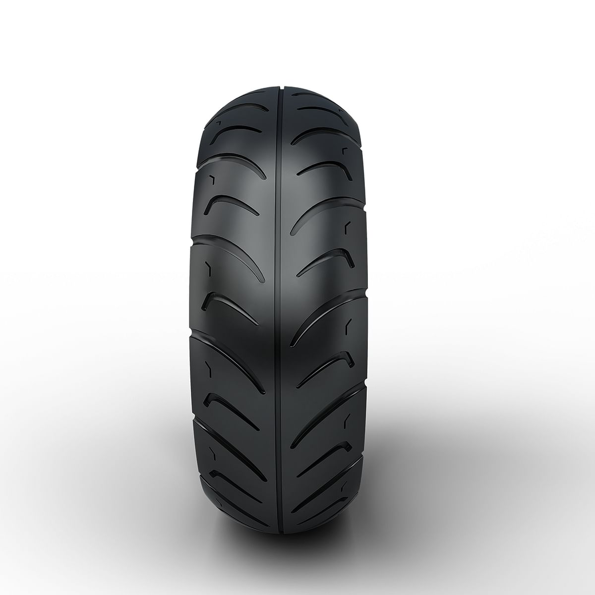 M922F tyre gets tread pattern along circumference and by sides as well that works in conjuction superior grip