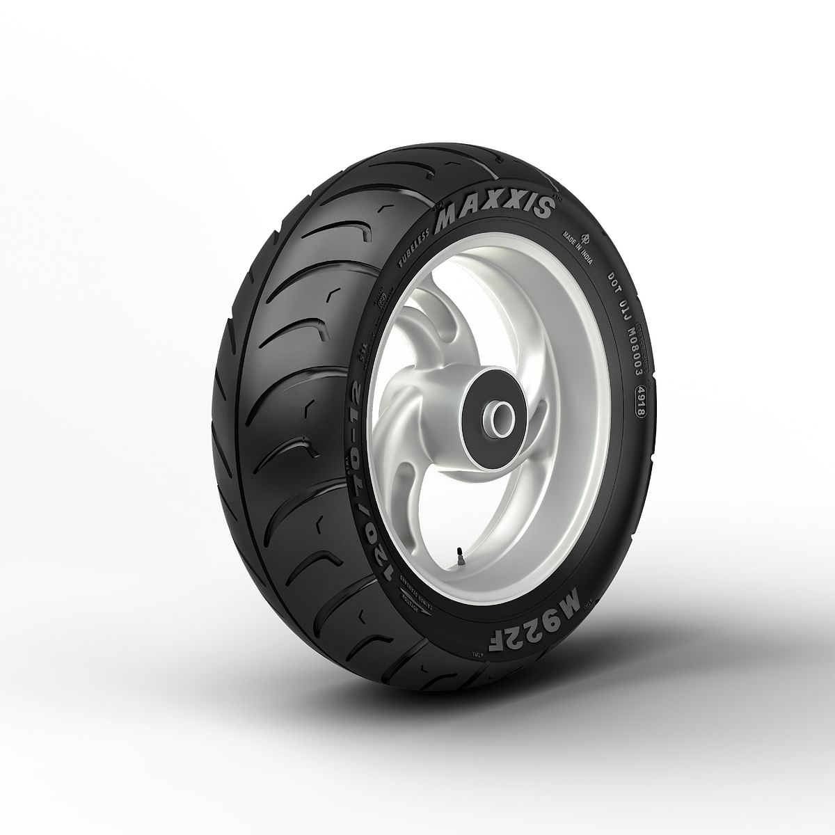The tyres is suitable for 12-inch wheel size
