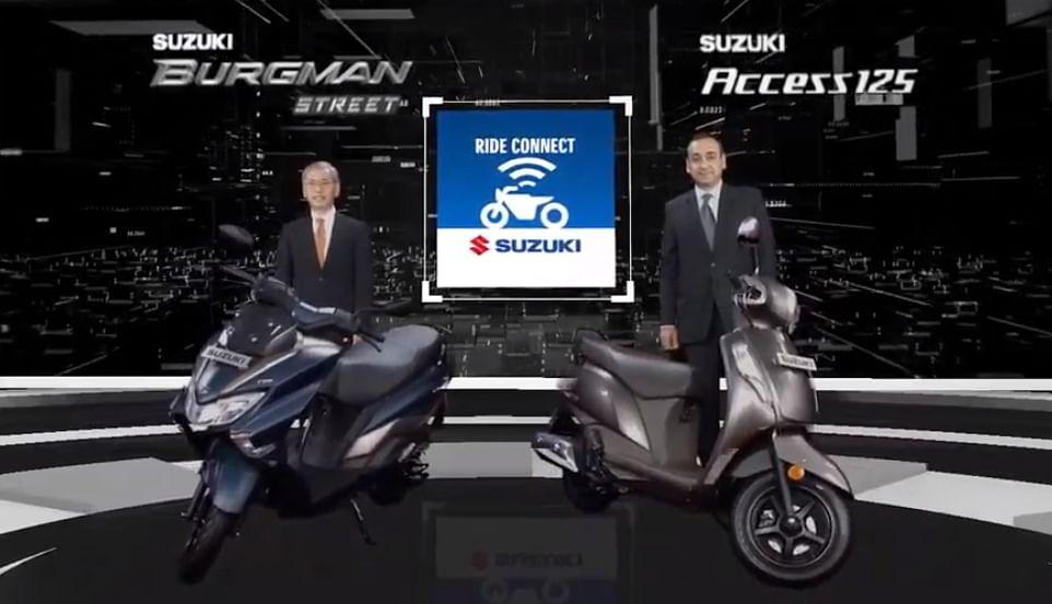 Suzuki Access 125, Burgman Street get Bluetooth-compatible clusters