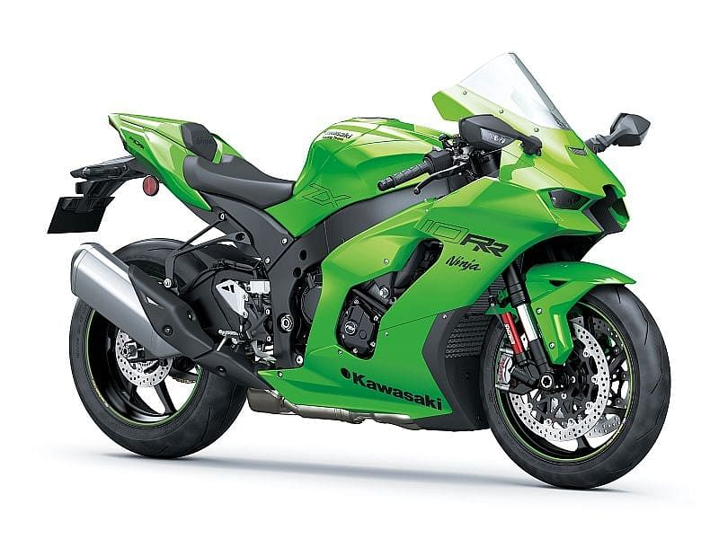 The ZX-10RR is a track focused bike which will be available in limited number of 500 units