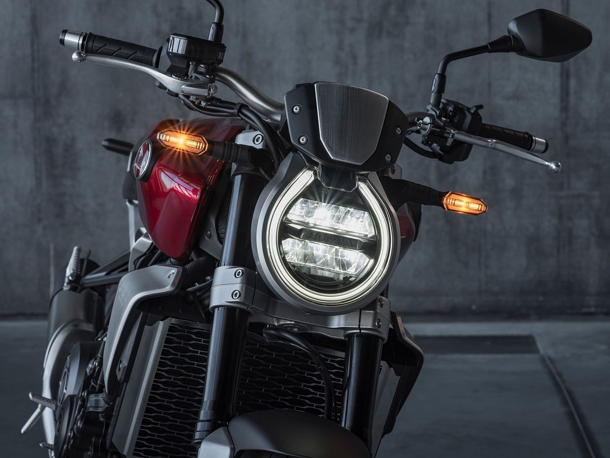Familiar round headlight now slightly angled backward for an overall sleeker profile
