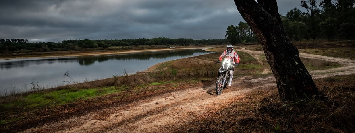It has been a dream run so far for the Hero Motosports Team Rally 'newcomer'